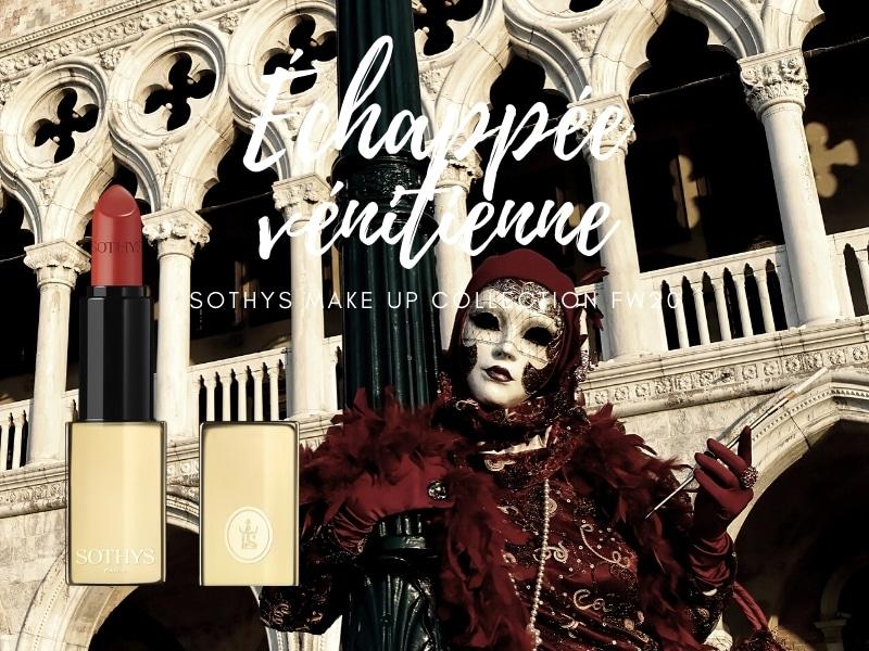 © SOTHYS Échappée vénitienne FW20 Lippenstift N°239 rouge orangé d'Italie