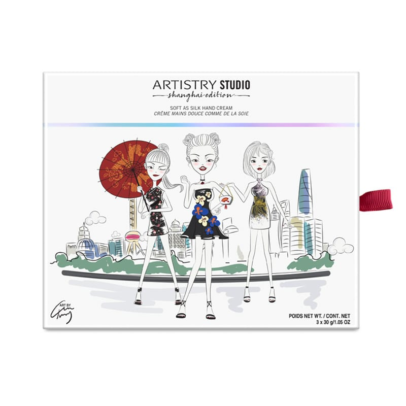 © ARTISTRY STUDIO Shanghai Edition Soft as Silk Handcreme Trio