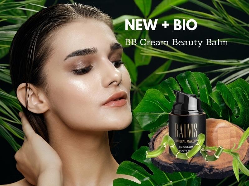 © BAIMS Organic Make-up BB Cream Beauty Balm - leichte Pflegeformel mit ausgesuchten Bio-Zutaten
