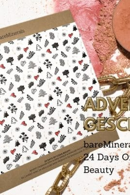 © bareMinerals Adventskalender 2020: 24 Days Of Clean Beauty