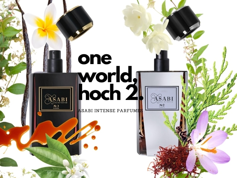 ASABI Parfumes – Ein bunter Schmelztiegel der Kulturen