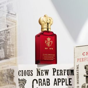 © Clive Christian Perfume Crown Collection Crab Apple Blossom - zitrische Luxusneuauflage mit Holzapfelblüten und Meeresbergamotte
