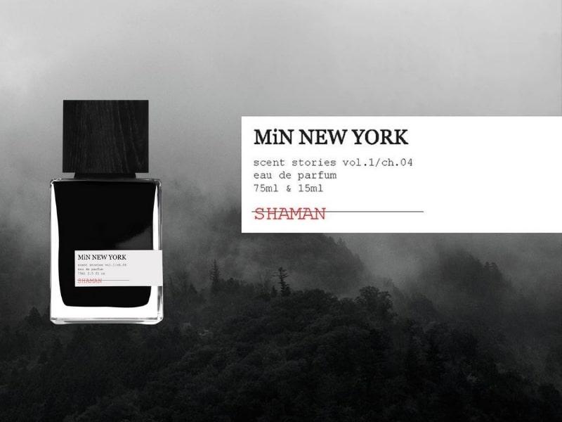 © MiN NEW YORK SHAMAN - spiritueller Waldläufer mit Weihrauch und Ambergris