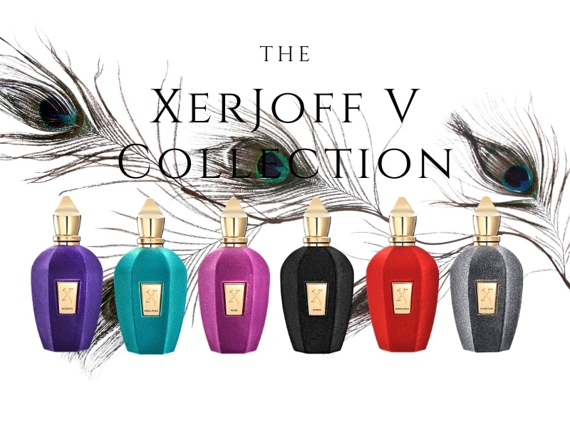 © XerJoff Naturae Exquisite V Collection in flamboyanten goldverzierten Samt-Flakons