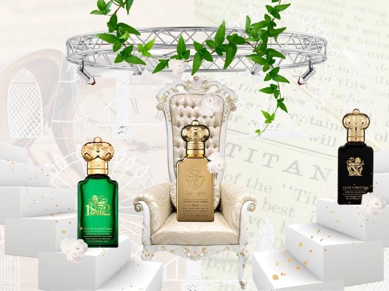 © Clive Christian Perfume Original Collection - weltberühmtes ikonisches Parfüm-Trio für sie & ihn