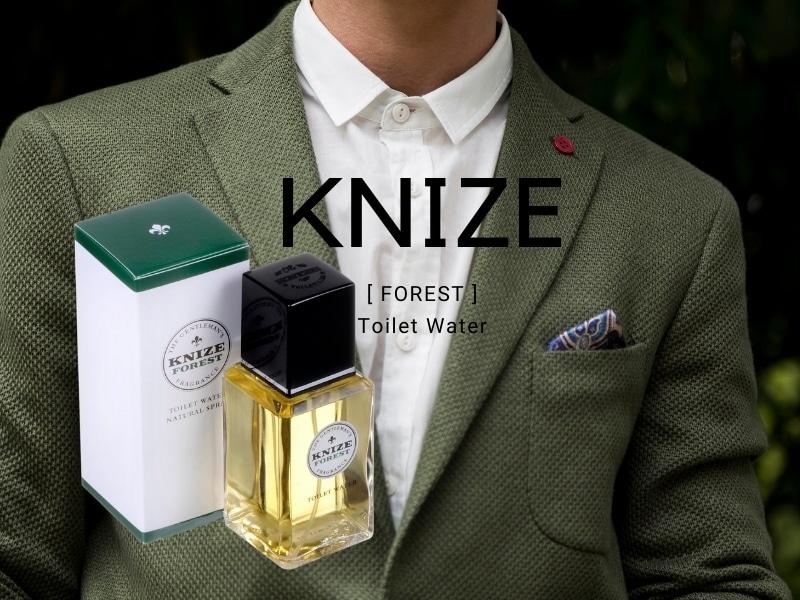 © KNIZE Toiletries FOREST - vierteilige grün-aromatische und balsamische Herren-Edition