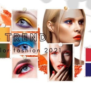Orange, Rot, Blau und Olive - Loni Baurs Make-up-Trendfarben 2021
