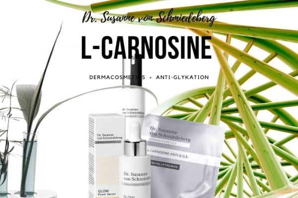 © Dr. Susanne von Schmiedeberg Dermacosmetics - mit L-Carnosin gegen die alterungsbegünstigende Zellverzuckerung