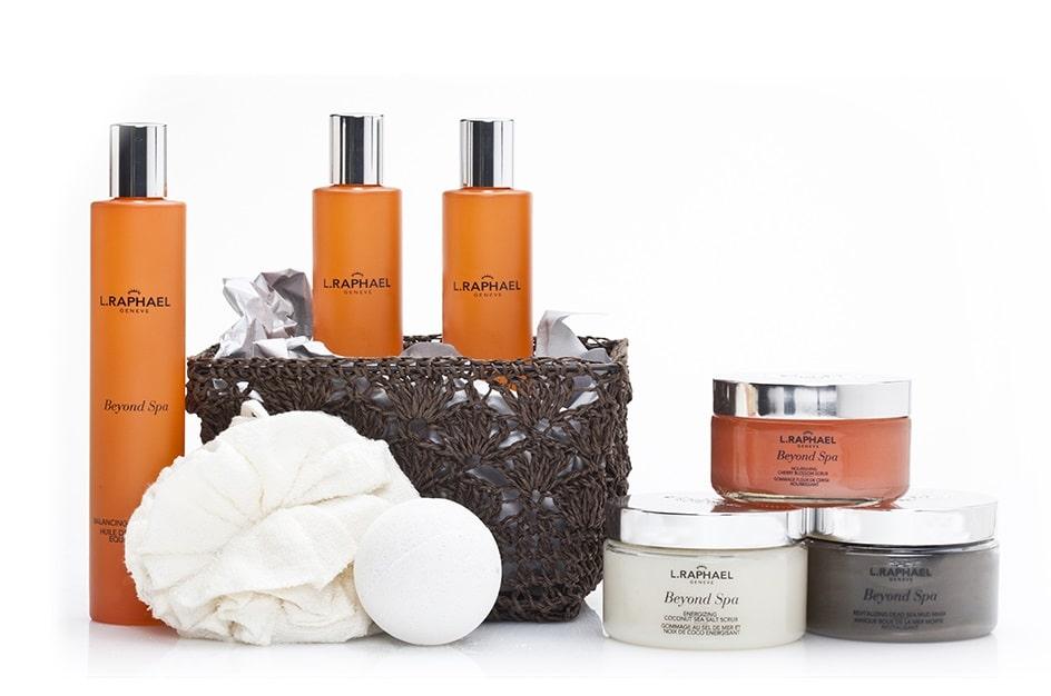 © L. RAPHAEL Geneve BEYOND SPA - Body-Kollektion mit aromatherapeutischen Premiumformeln