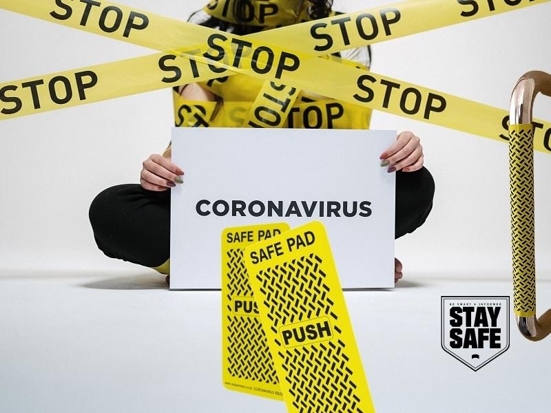 SafePad – Antimikrobieller Mikrosilber-Oberflächenschutz gegen Coronaviren