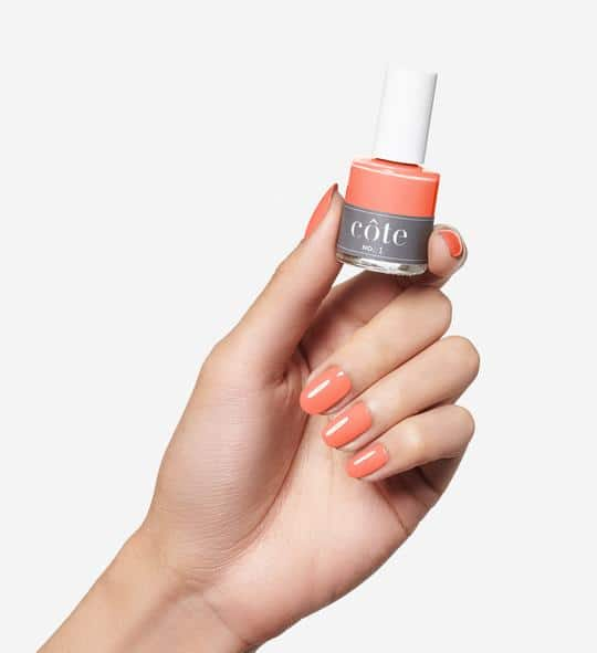 © côte Nails N°1 in Sunny Peach