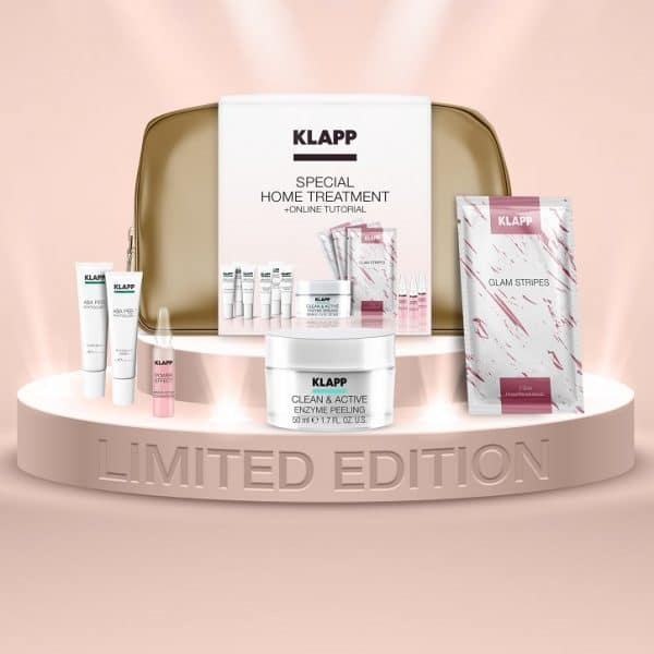 © KLAPP Cosmetics Special Home Treatment für studiofreie Beauty-Zeiten