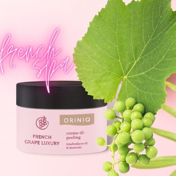 © ORINIQ French Grape Luxury Spa-Kollektion