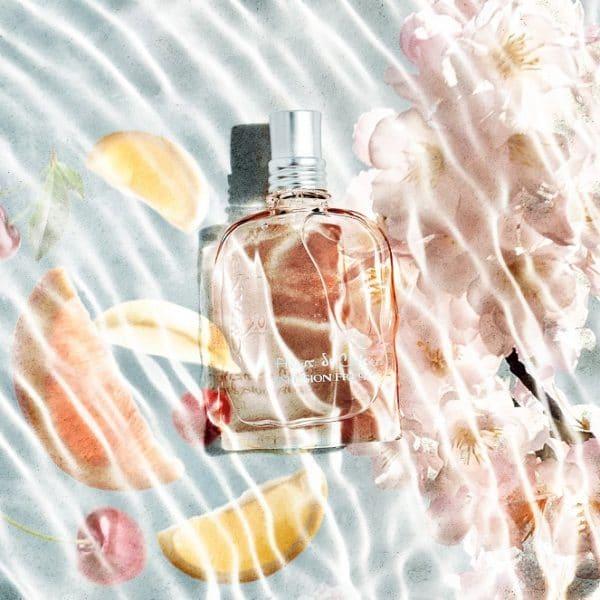 © L'OCCITANE Frühlingskollektion Kirschblüte Infusion Fruitée