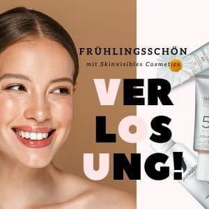 Unsere exklusive Frühlingsschön-Verlosung mit Skinvisibles Cosmetics