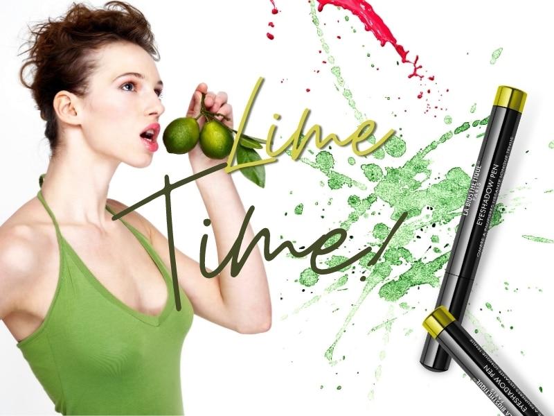 © LA BIOSTHÉTIQUE Paris Make-up Collection SS21 Keypiece Eyeshadow Pen Lime