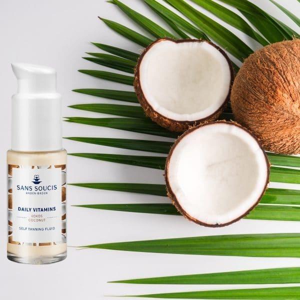 © Sans Soucis Daily Vitamins Kokos Self Tanning Fluid