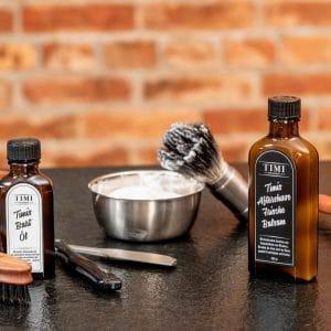 © TIMI - DER BARBIER - salonexklusive Rasurpflege aus dem Stuttgarter Barbershop für kultiviertes Haar- und Bartstyling