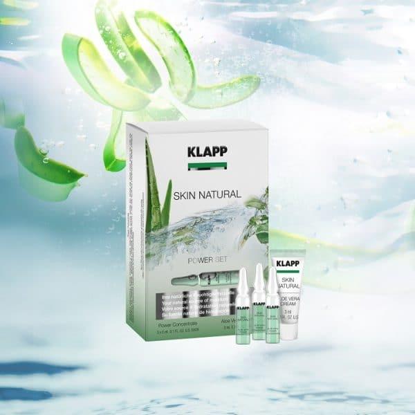 © KLAPP Cosmetics Skin Natural Power Set