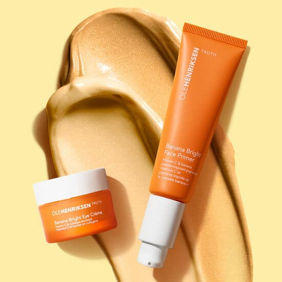 © OLE HENRIKSEN skincare The Banana Bright Collection