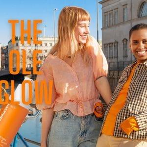"© OLE HENRIKSEN skincare EU-Markenkampagne ""The Power of Glow"""