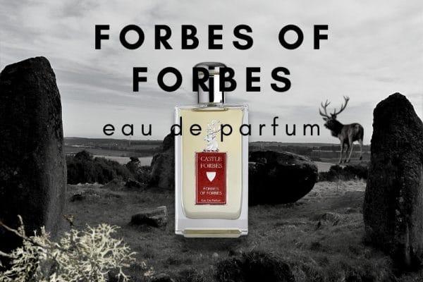 © Castle Forbes Scotland FORBES OF FORBES - aristokratische Clan-Saga in authentischer Premium-Parfümerie