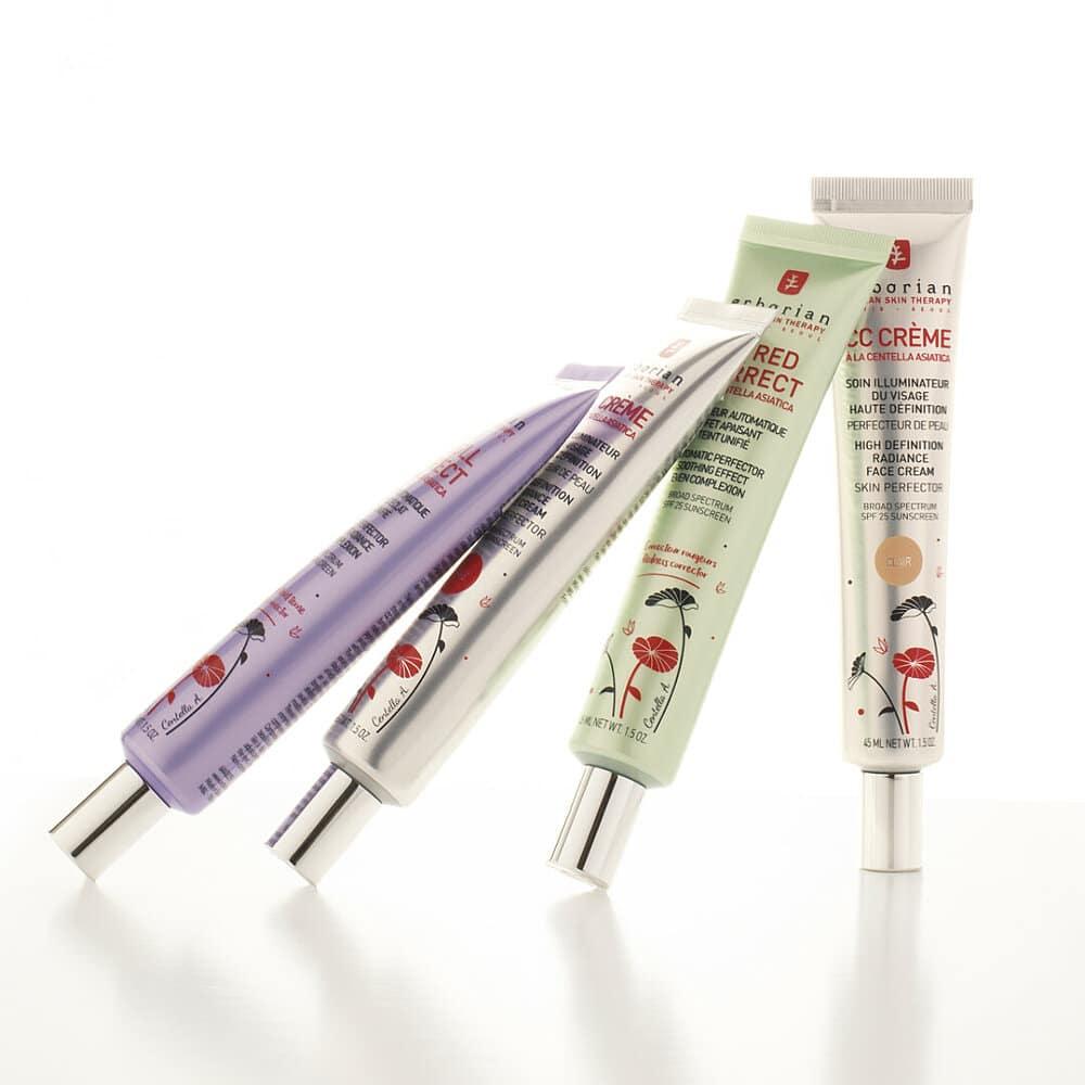 © Erborian Korean Skin Therapy - multifunktionale Korrekturhilfen für die Teintperfektion