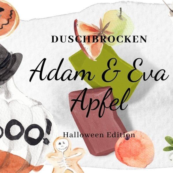 © DUSCHBROCKEN Halloween Edition Adam & Eva Apfel