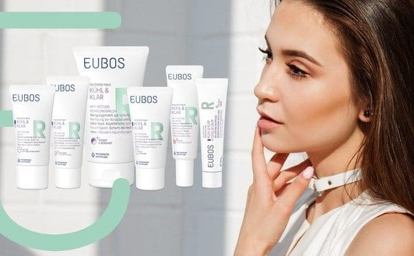 © EUBOS KÜHL & KLAR Med-Kosmetik bei Couperose und Rosazea