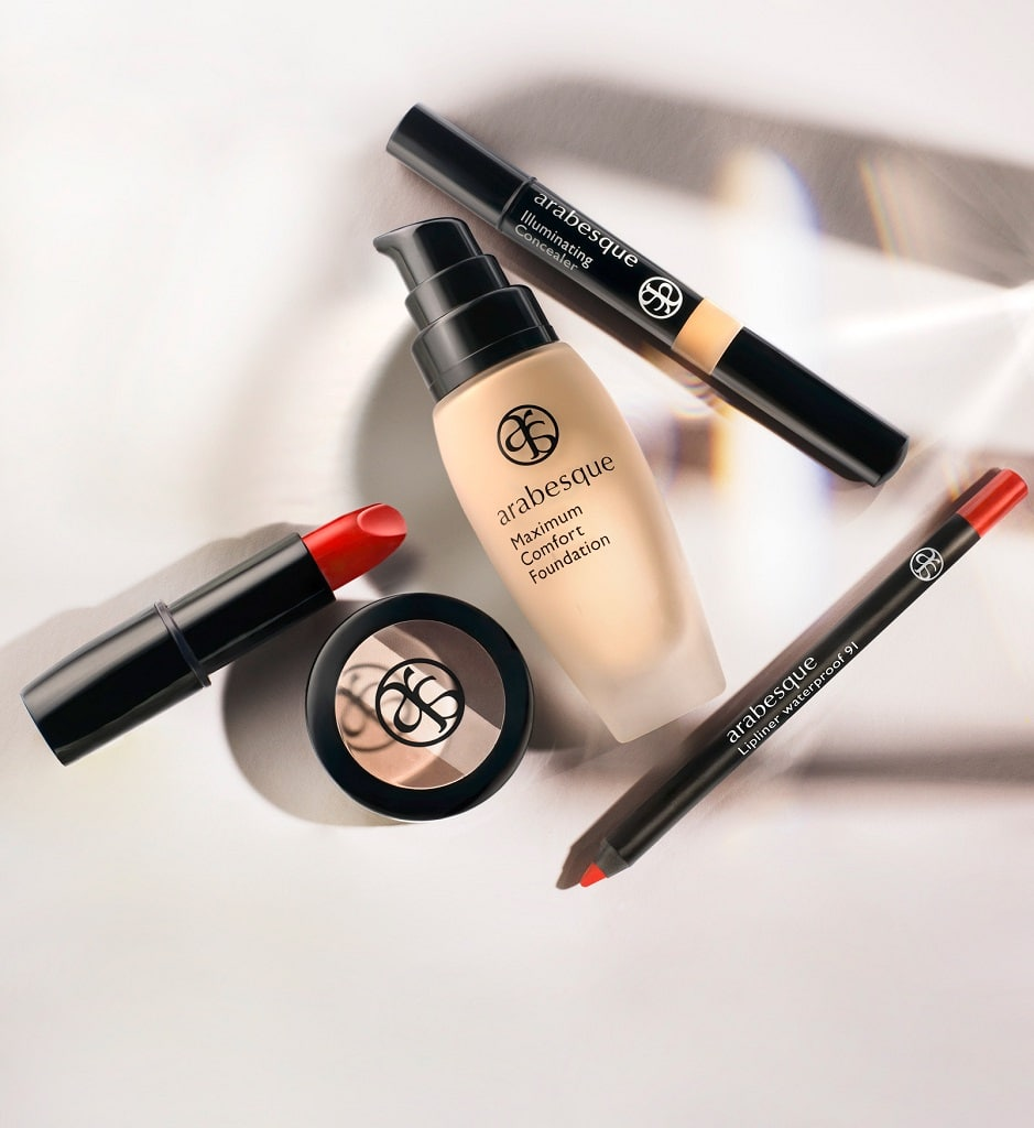 © arabesque My Make-up Colors - stylishe Farbcodes für intuitive Handhabung