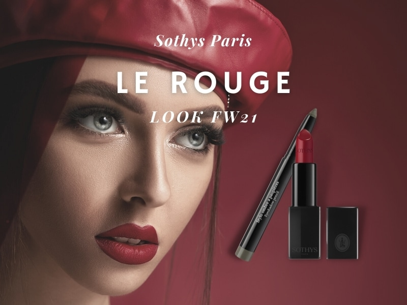 © SOTHYS Paris Trendlook ROUGE FW21