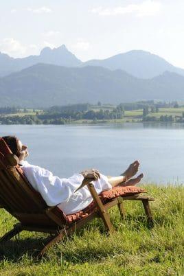 © Biohotel Eggensberger am Hopfensee/ Fotocredit G. Standl - Wellnessprämierte und klimafreundliche Relax-Auszeit im Allgäu