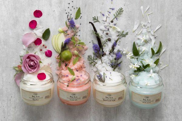 © SABON Body Scrub Collection - liebevoll designte Aromatherapie-Kreationen für Gesicht und Körper